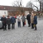 Die Ankunft im Stift Heiligenkreuz