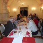 Beim Abendessen im Stiftsgasthof