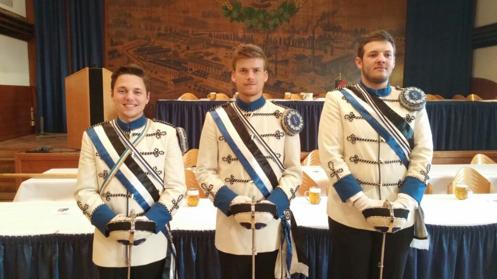 Stiftungsfest der KATV Norica mit Christopher, Janne und Robert
